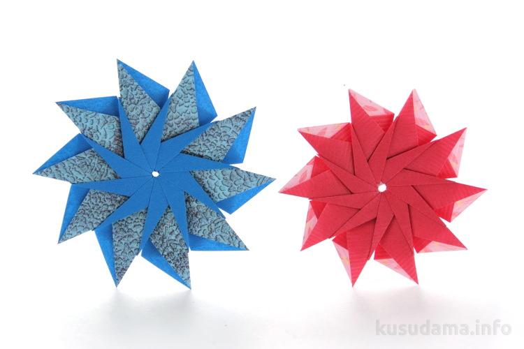 Modular Origami Stars