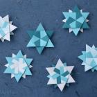 Modular Origami Stars (back side)