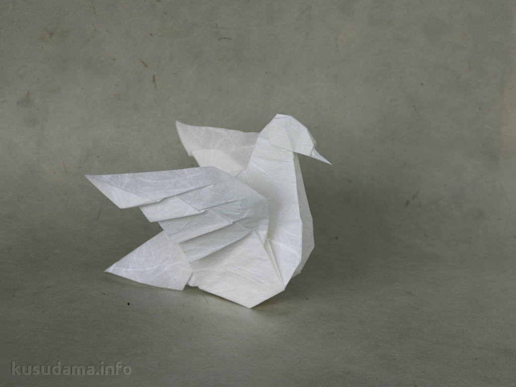 Origami Dove (version 2.0)
