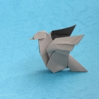 Origami Dove (version 2.0)