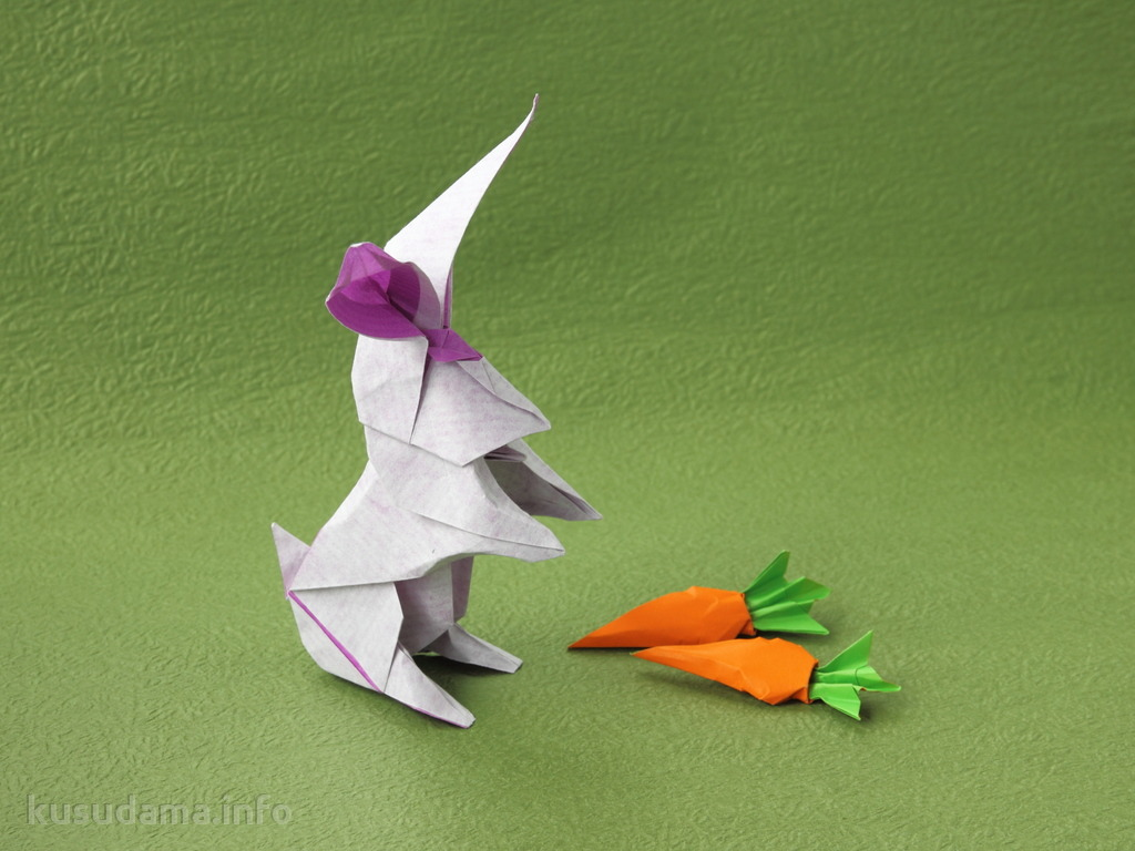 Rabbit with Carrots