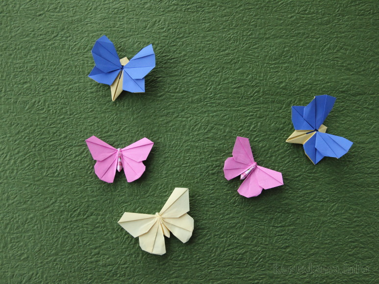 Origami Butterflies Origami