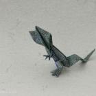 Message lizard by Yoshio Tsuda