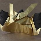 Samurai Helmet by Marcelo Arispe-Guzman