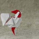 Rooster by Saku