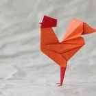 Chicken by Bali Origami